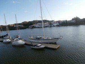 Puerto de Sanlúcar de Guadiana.